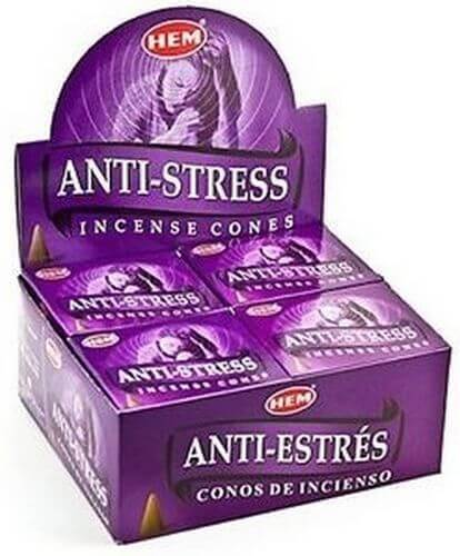 Incenso HEM Coni Anti-stress