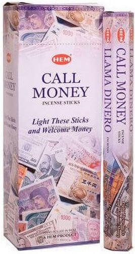 Incenso HEM Call Money 20g