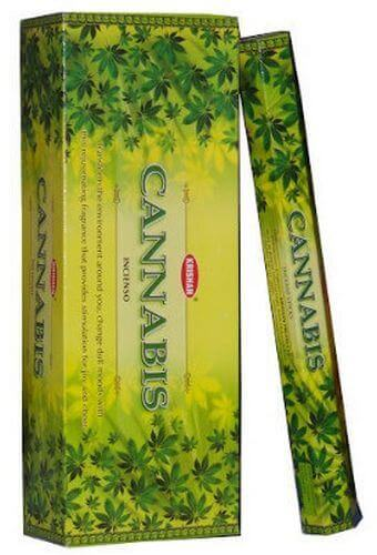 Incenso Krishan Cannabis Canapa 20g