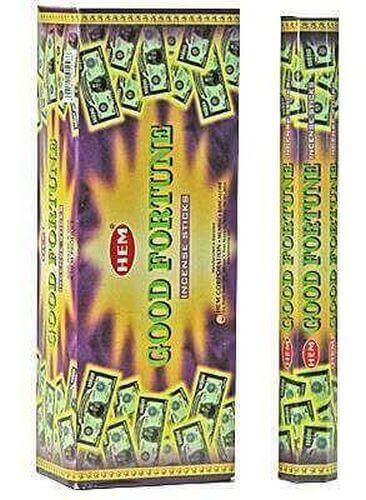 Incenso HEM Good Fortune 20g