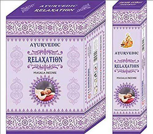 Incenso Ayurvedic Relaxation 15g