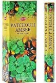 Incenso HEM Patchouli Ambra 20g